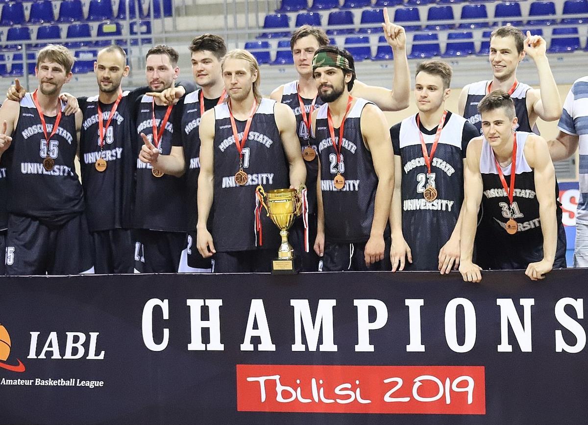834ed2ca МГУ – чемпион Международной любительской баскетбольной лиги
